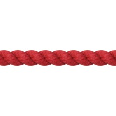 JHL Cotton Lead Rope (Red)