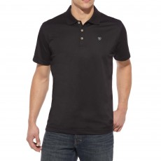 Ariat Men's Tek Polo (Black)