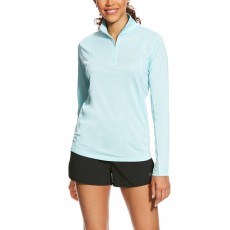 Ariat Women's Sunstopper 1/4 Zip (Blue Cloud)