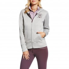 Ariat (Sample) Women's FEI World Cup Milton Hoodie (Heather Grey)