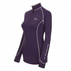 LeMieux Women's Base Layer (Blackcurrant)