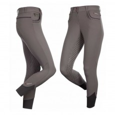 LeMieux Women's Engage Full Seat Breeches (Pewter/Blackcurrant)