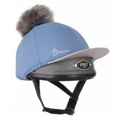 LeMieux Pom Pom Hat Silk (Ice Blue)