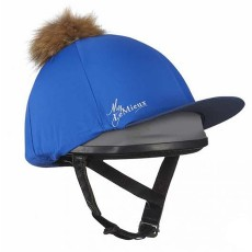 LeMieux Pom Pom Hat Silk (Benetton Blue)