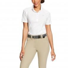 Ariat Women's Showstopper Short Sleeve (White)