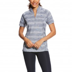Ariat Women's Cambria Jersey (Indigo Fade Stripe)