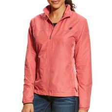 Ariat Women's Ideal Windbreaker Jacket (Frayed Red)