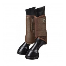 LeMieux Mesh Brushing Boot (Brown)