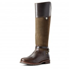 Ariat Women's Carden H2O Boots (Chocolate/Willow)
