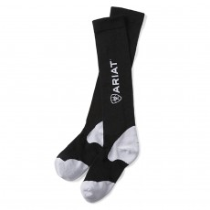 Ariat Women's TEK Performance Sock (Black & White)