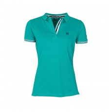 Mark Todd Women's Polo Shirt (Jade/Navy)