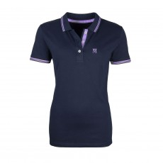 Mark Todd Women's Polo Shirt (Navy/Lilac)