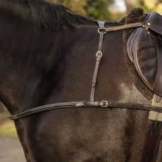 Mark Todd 4-Point Breastplate (Black)