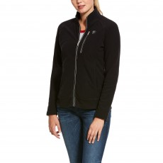 Ariat Women's Basis 2.0 Full Zip Jacket (Black)