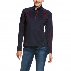 Ariat Women's Conquest 2.0 1/2 Zip Sweatshirt (Navy)