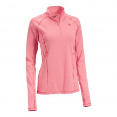 Ariat Women's Lowell 2.0 1/4 Zip Base Layer (Geo Autumn Red)
