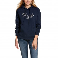 Ariat Women's Real Sequin Hoodie (Navy)