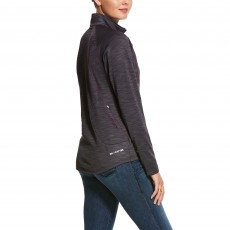 Ariat Women's Conquest 2.0 1/2 Zip Sweatshirt (Nine Iron)