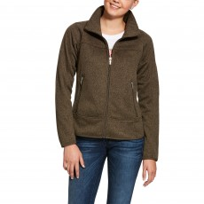 Ariat Women's Sovereign Full Zip Jacket (Banyan Bark)