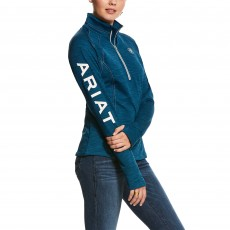 Ariat Women's Tek Team 1/2 Zip (Dream Teal Heather)