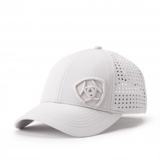 Ariat Adult Unisex Tri Factor Cap (Silver Grey)