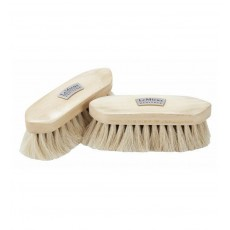 LeMieux Heritage Soft Finishing Brush (White & Brown)