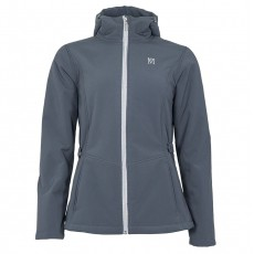 Mark Todd Women's Softshell Fleece Lined Jacket (Grey/Silver)