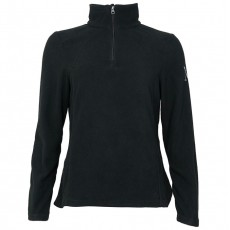 Mark Todd Women's 1/2 Zip Fleece (Black)