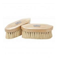 LeMieux Heritage Deep Clean Dandy Brush (White & Brown)