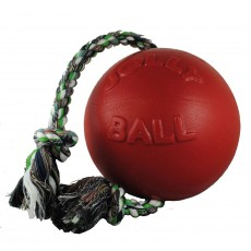 Jolly Pets Romp-N-Roll Jolly Ball (Red)