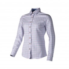 Baleno Women's Nina Shirt (Blue Check)