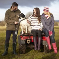 Toggi Wanderer Classic Plus Welly (Matt Pink)