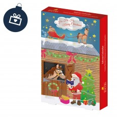 Father Christmas Advent Calendar for Horses