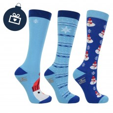 Hy Christmas Snowman Socks (4-8)
