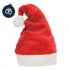 Hy Christmas Santa Helmet Hat (Red & White)