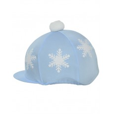 Hy Snowflake With Pom Pom Hat Cover (Light Blue)