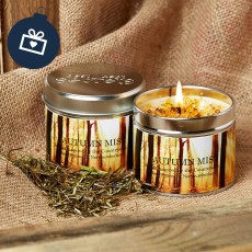 Scented Candle (Autumn Mist)
