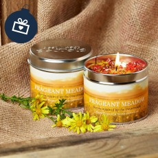 Scented Candle (Fragrant Meadow)
