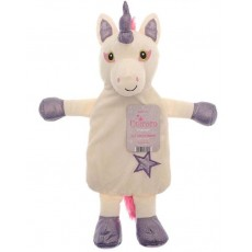 Unicorn Hot Water Bottle (Purple)