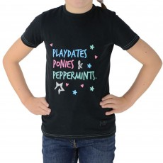 HyFASHION Zeddy Playdates T-Shirt (Black/Teal)