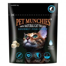 Pet Munchies Treats For Cats (Gormet Fish Fillet)