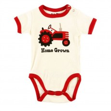 LazyOne Babygrow Vest (Home Grown)