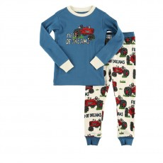 LazyOne Kids PJ Set (Field of Dreams)