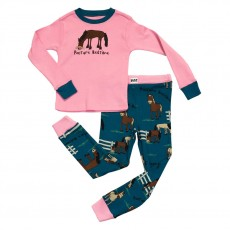 LazyOne Kids PJ Set (Pasture Bedtime)