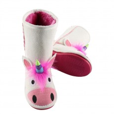 LazyOne Kids Toasty Toez Slippers (Unicorn)