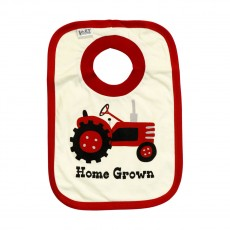LazyOne Home Grown Bib(Beige)