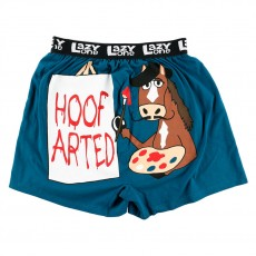 LazyOne Mens Boxer Shorts (Hoof Arted)