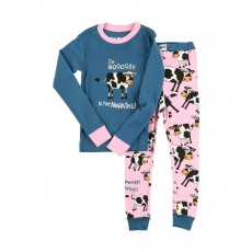LazyOne Kids PJ Set (Moody in the Morning)