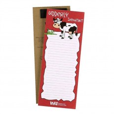 LazyOne Magnetic Notepad (Udderly Important)