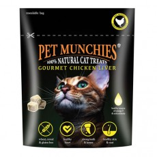 Pet Munchies Treats For Cats (Gormet Chicken Liver)